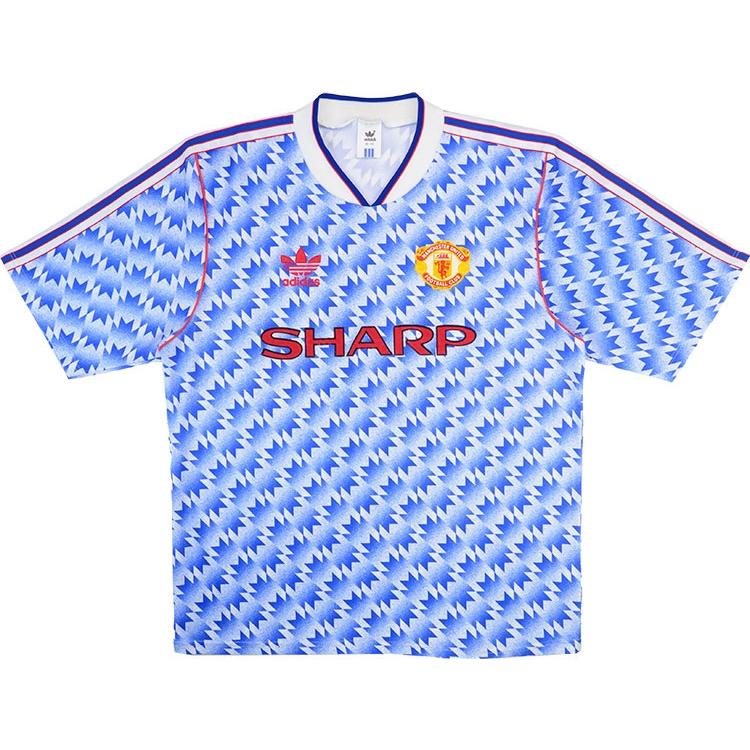 wholesale dealer 45d2b 6476d 1990-92 Manchester United Away Shirt