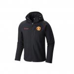 Manchester United Columbia Cascade Ridge II Sofshell Jacket - Black - Mens