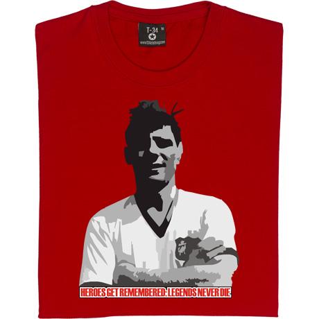 Duncan Edwards: Legends Never Die T-Shirt