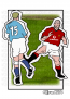 Keane Tackle A4 Print