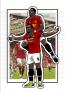 Romelu Lukaku & Paul Pogba A4 Print