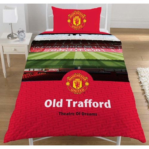Manchester United Fc Stadium Single Duvet Set