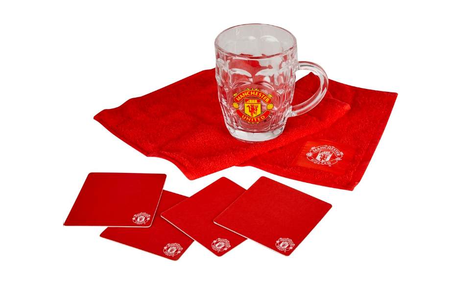 Manchester United Dimple Mini Bar Set