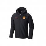 Manchester United Columbia Cascade Ridge II Sofshell Jacket - Black - Mens